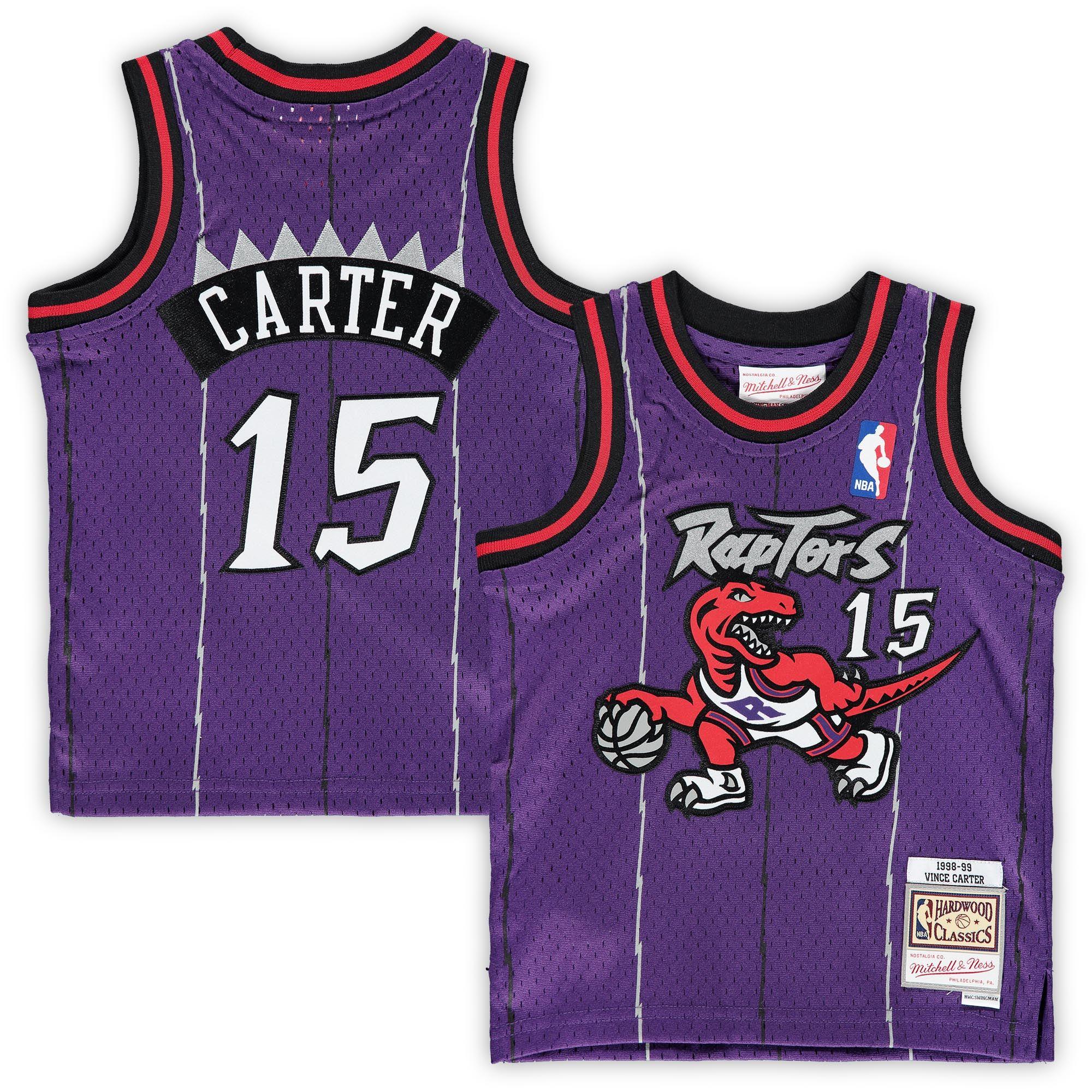 New 2021 Vince Carter Toronto Raptors Mitchell & Ness Infant 1998 ...